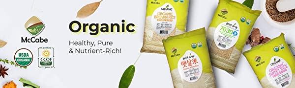 12 Lbs McCabe Organic Rice Images