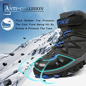 anti collision shoes toe