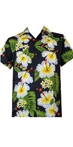 Hibiscus Flower Hawaiian Shirt