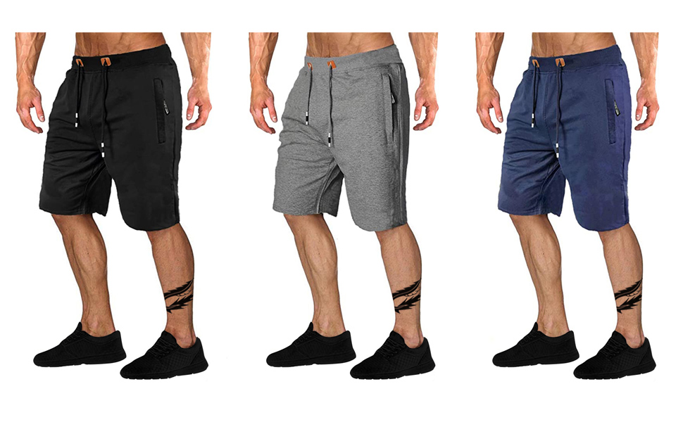 mens casual workout shorts