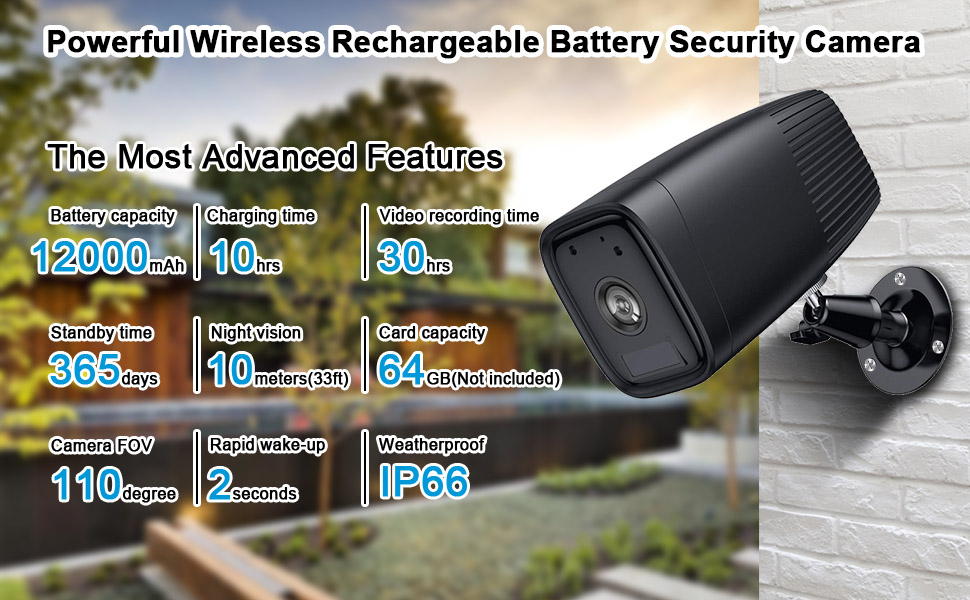 battery security camera,wireless security camera,outdoor camera wireless,waterproof camera