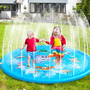 water sprinkler toys for kids in summer