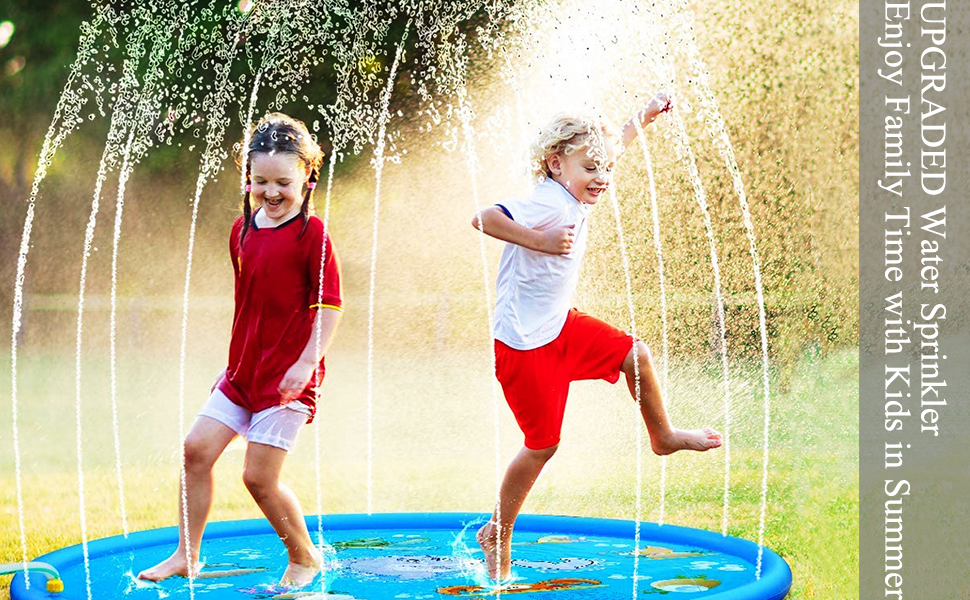 water sprinkler toys outdoor