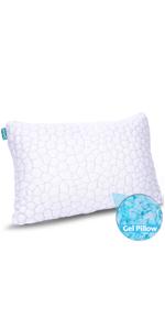 cool shredded memory foam pillow