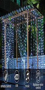 curtain lights light curtain Led curtain light icicle lights