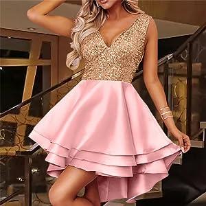 Heart-Broken-Pink-Gold-Sequin-Multi-Layer-Skater-Dress_pink1