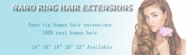 laavoo nano tip ring hair extensions