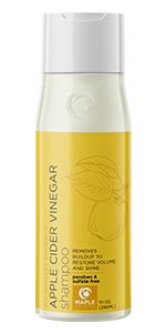 apple cider vinegar ACV shampoo