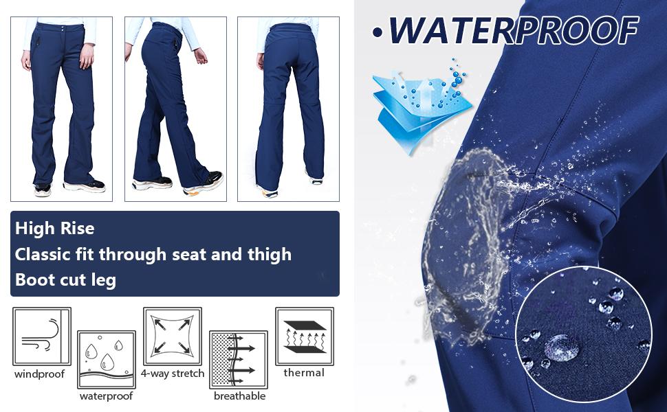waterproof softshell pants