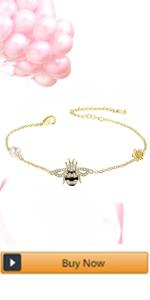 sunflower bee Bracelet