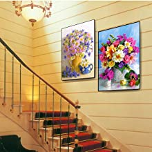 diamond painting Flower 2 Pack