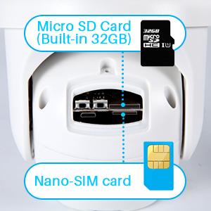 Sim card included