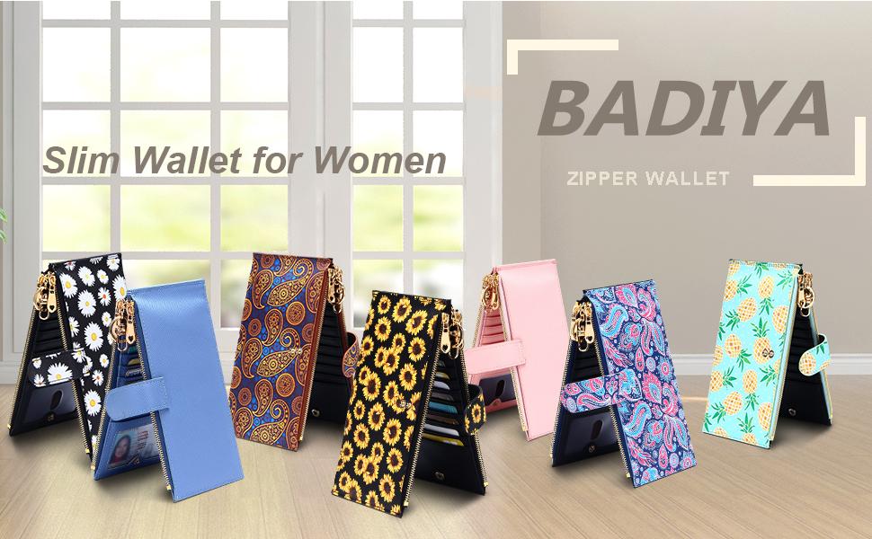 slim wallet for women