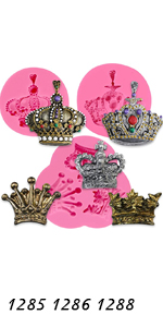 Royal Crown Molds 3-count
