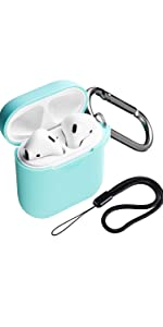 mint green airpods case