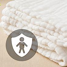 registry bath sensitive skin washcloth  supplies fabric kid bulk newborn girl gift products