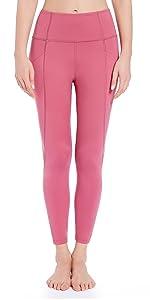 Leggings Merlot Red