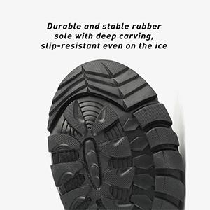 NORTIV 8 Men's Waterproof Outdoor Hiking Work Boots