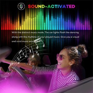 Color changing with Music