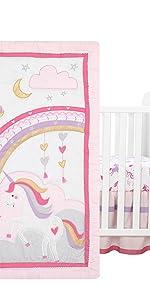 Magic Unicorn Crib Bedding Set
