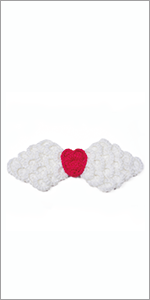 baby knit angel wings