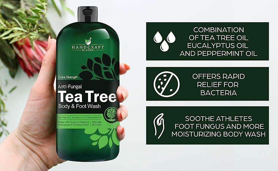 tea tree oil body wash