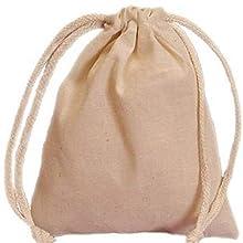 canvas storage bag drawstring