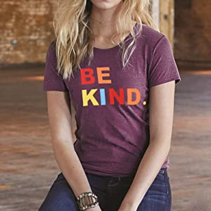Anti-bullying Shirts for Women Claret