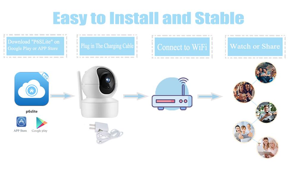 1080p wireless camera