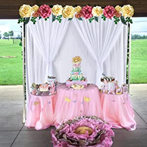 5 ft X 7 ft Backdrop Curtain