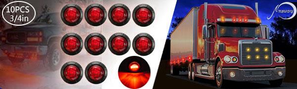 nbwdy red trailer light,marker light