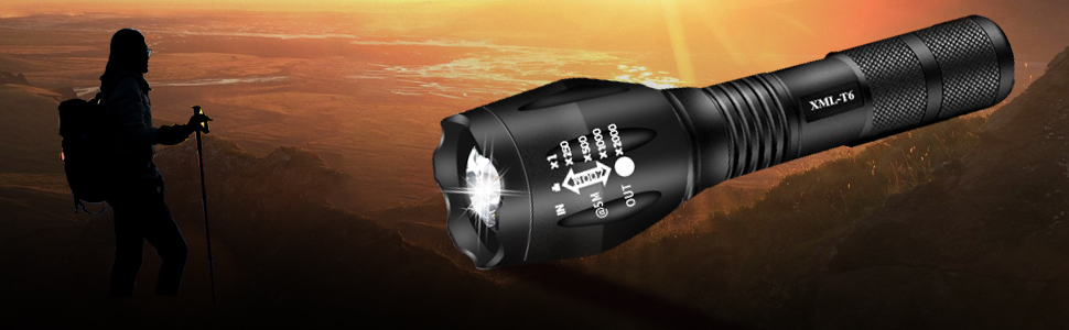 waterproof rechargeable flashlight