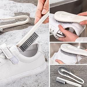 Detachable Shoe Brush Scrub Brush Bathroom Brush Shoe Brush Grout Brush Dish Brush kitchen brushes