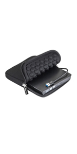 ROOFULL usb 3.0 cd dvd drive burner external with protective carrying case for windows 10 laptop
