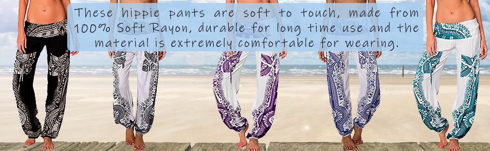 Harem pants women womens pants yoga hippie bohemian casual gypsy pants yoga pants girls clothing