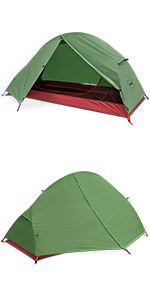 1 person backpacking tent