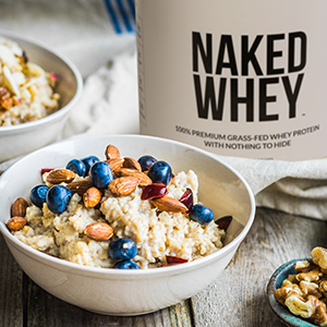 naked whey protein powder recipe, oatmeal protein powder recipe, grass-fed whey protein powder