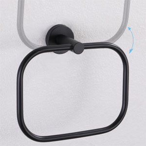 Left View of Towel Ring