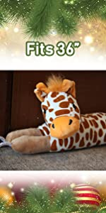 giraffe door draft stopper