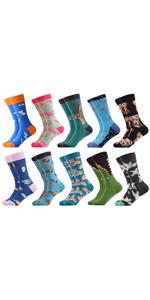 animal patterned socks