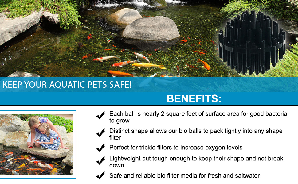 Keep your aquatic friends safe