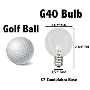 g40 bulb globe bulb wedding lights