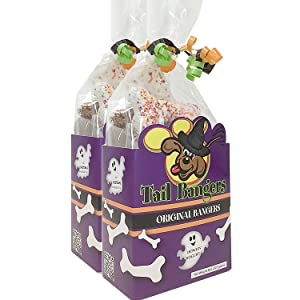halloween dog treat gift set