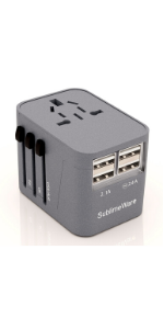 travel adapter power plug adapter charging for international trip European China japan
