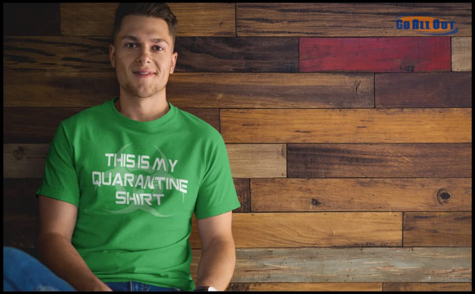 This Is My Quarantine Shirt Adult T-Shirt