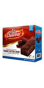 Chewzy Peanut Butter Chocolate Crisp