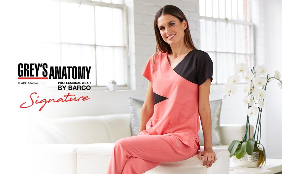 barco grey's anatomy signature scrubs medical healthcare uniforms fashion