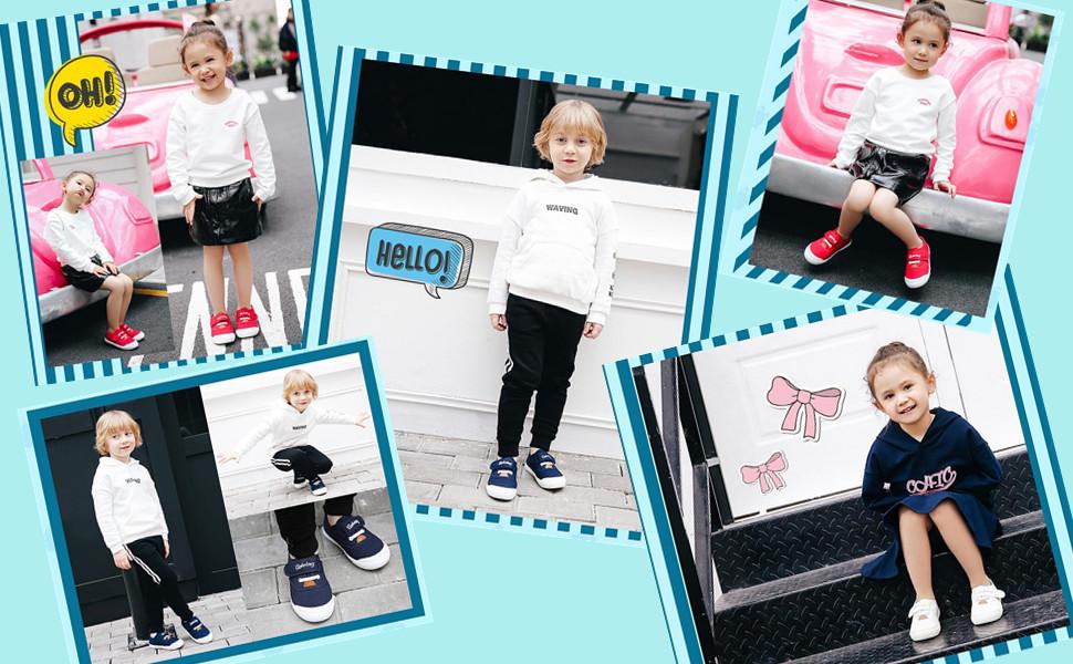Stylish baby shoes