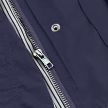 Dual Zipper and Buttons Front Closure