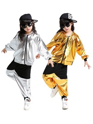 gold and silver clothing set